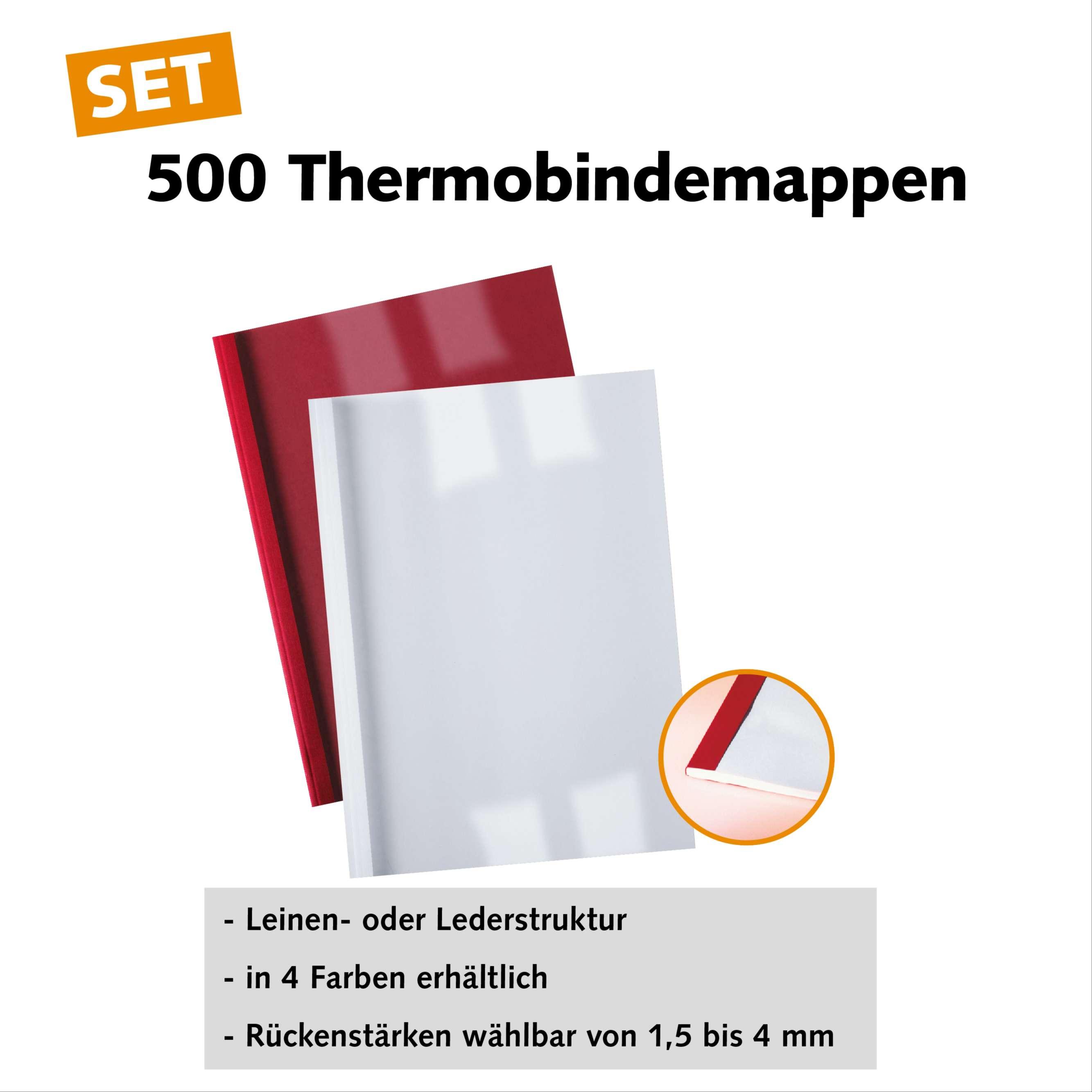 500 Thermobindemappen - Startset
