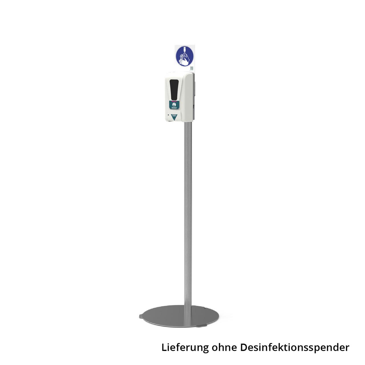 RENZ Ständer Edelstahl für Desinfektionsspender