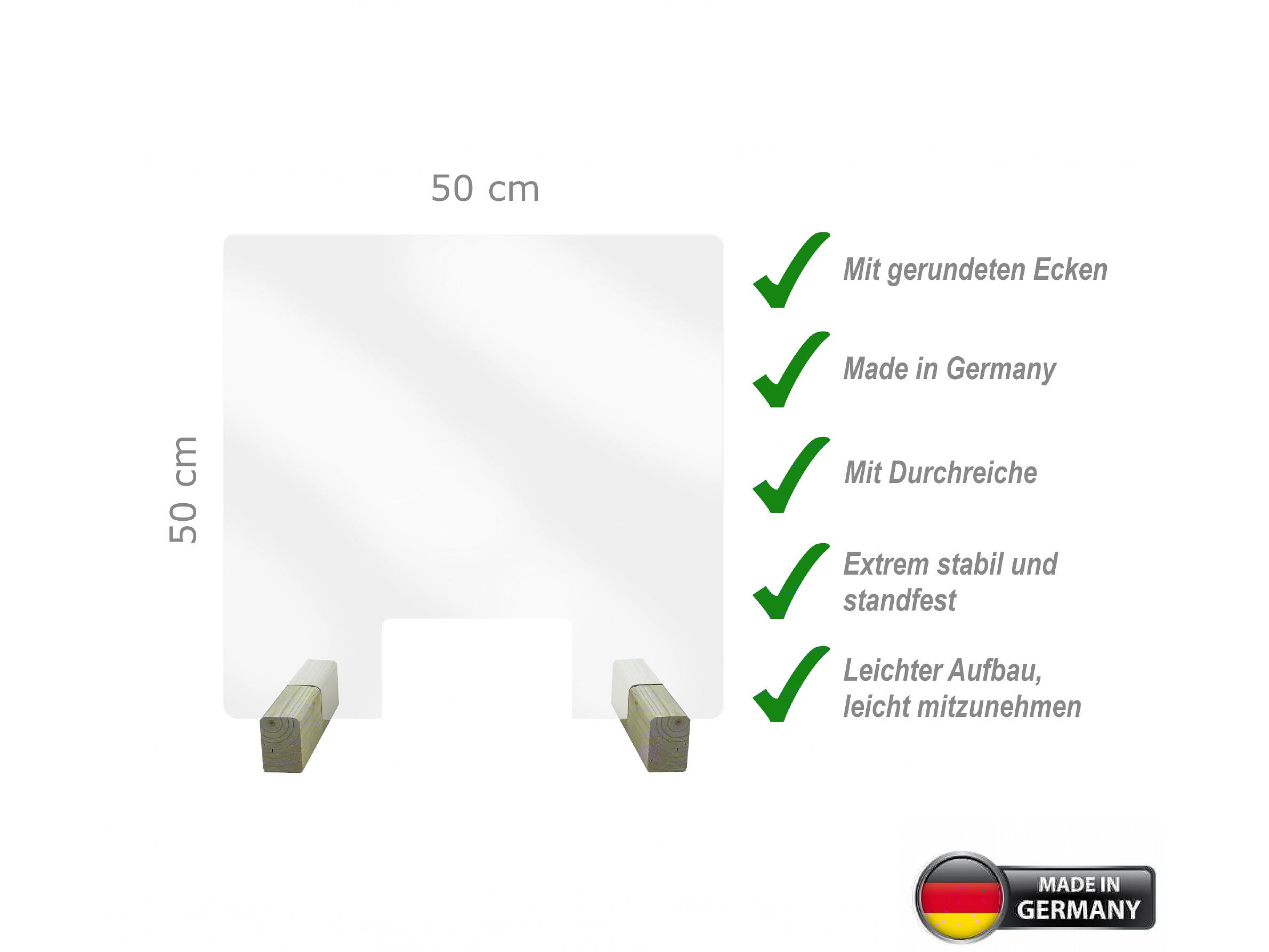 Spuckschutz 50x50cm