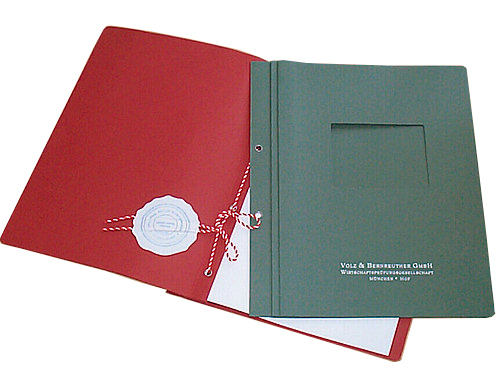 Heftband Beispiel Mappe