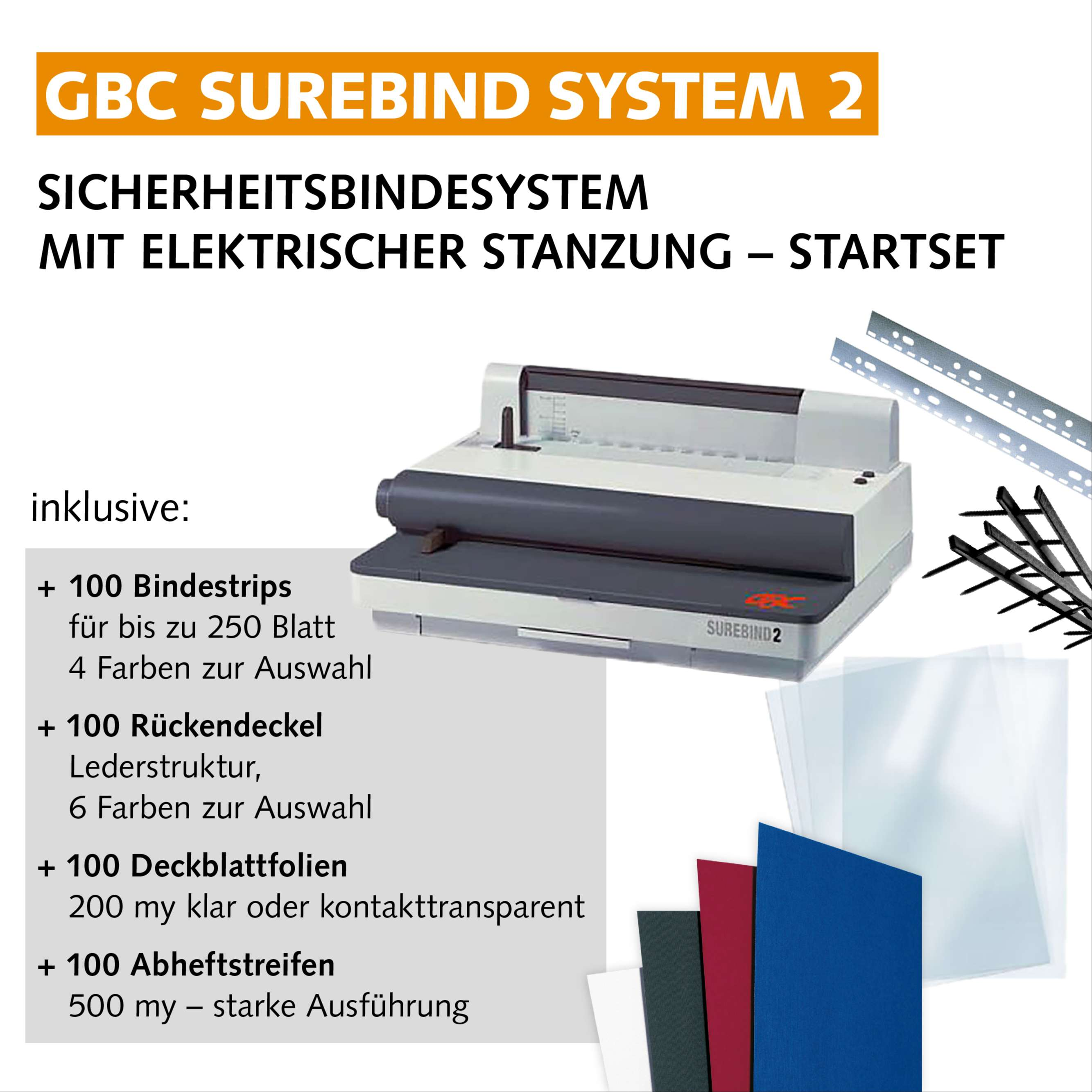GBC SureBind 2 - Set