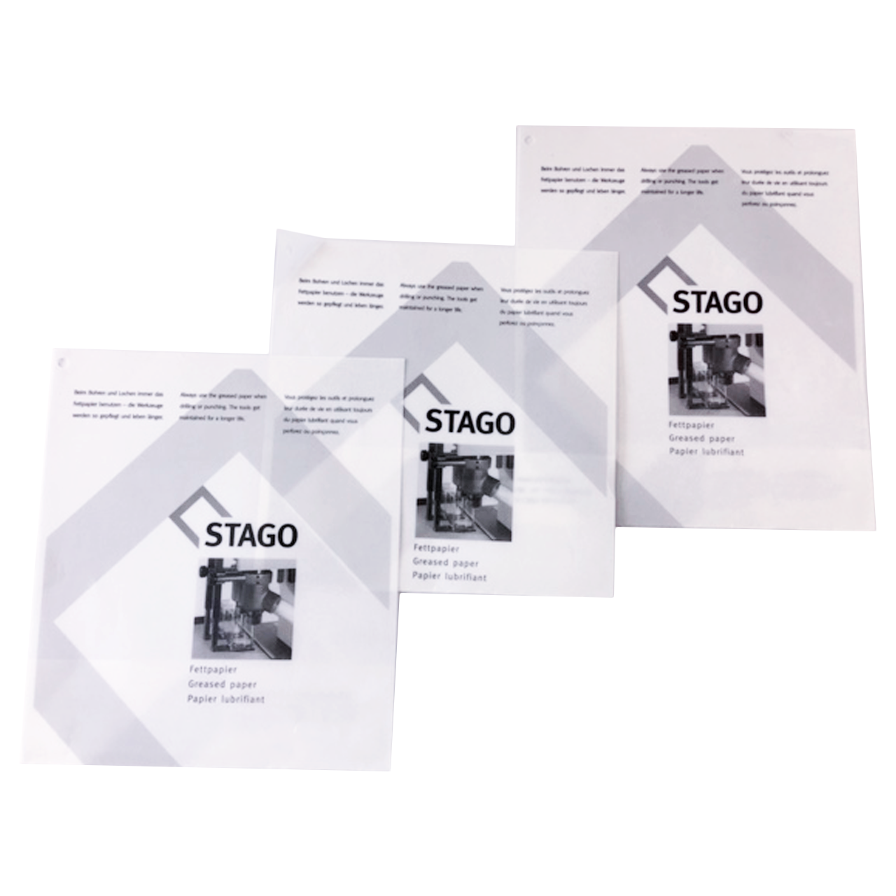 Wachspapier - Fettpapier STAGO, DIN A4