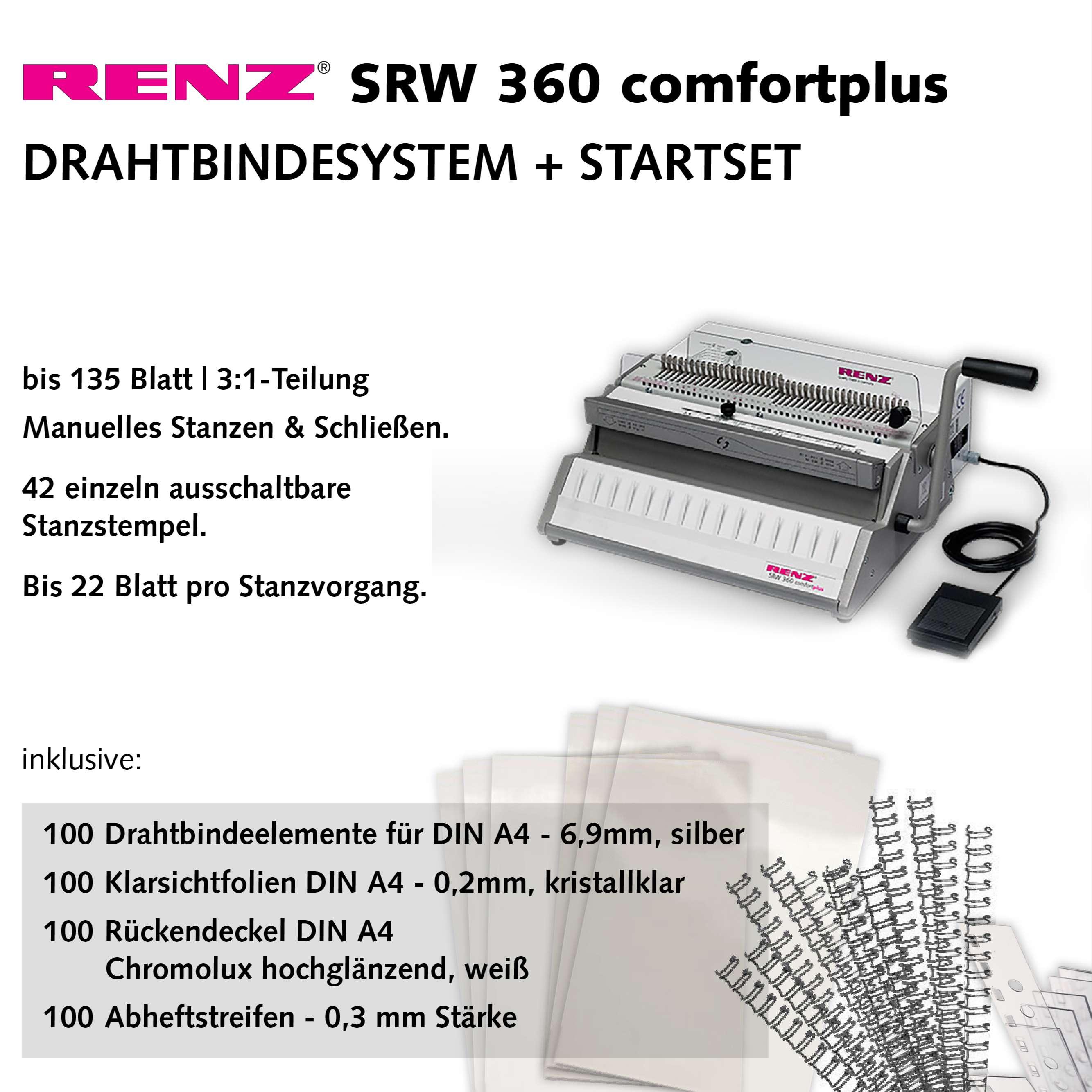 RENZ SRW 360 comfortplus - Startset