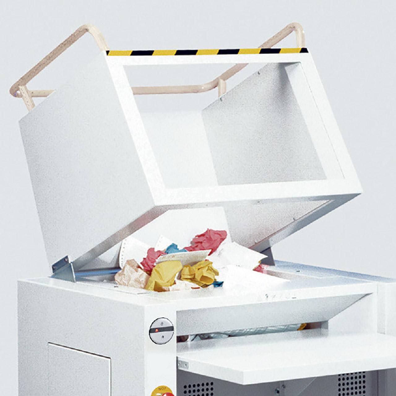 Ideal 4606 - Papierzuführung
