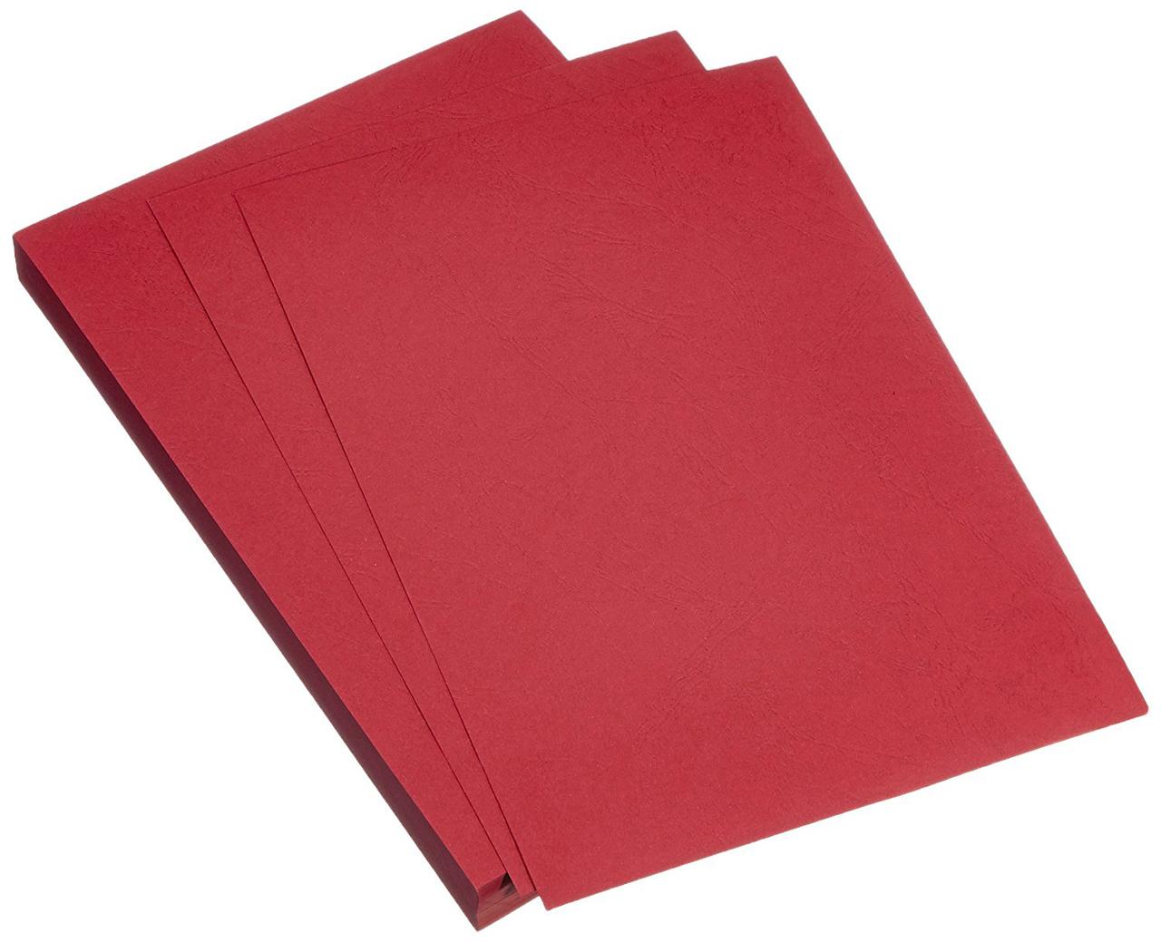 Einbanddeckel rot