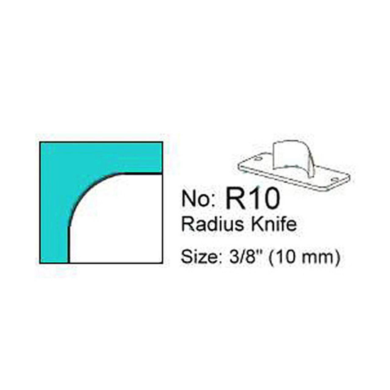Stanzmesser R 10 für Eckenrunder M70