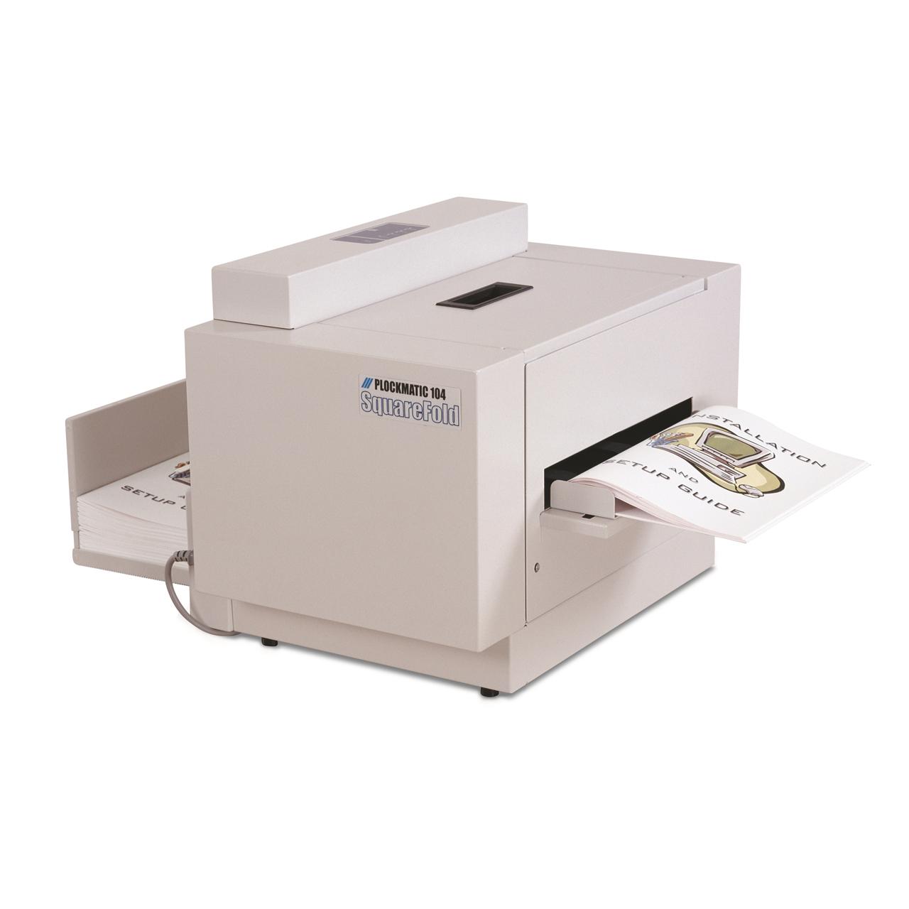 Squarefolder SQF 104 für Rückenpressung von Broschüren