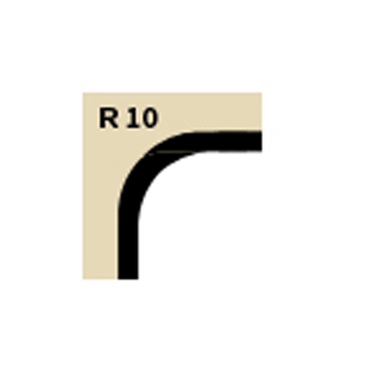 Stanze R10 für REGUR® Trimmit Eckenstanzer