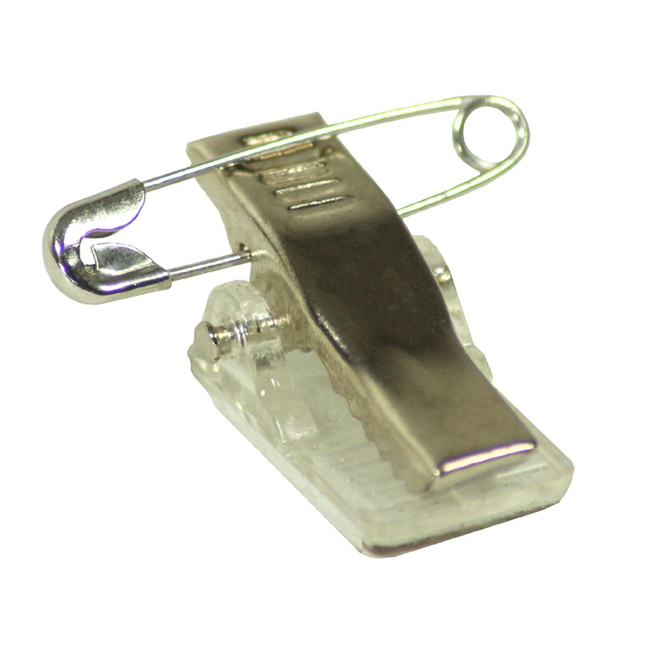 Clip mit Sicherheitsnadel