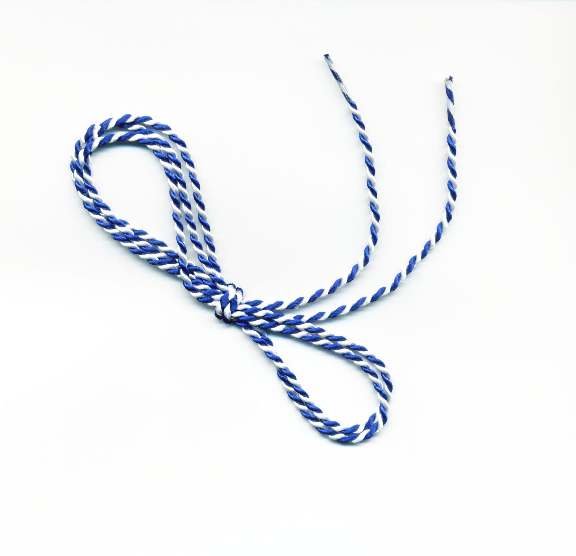 Kordel Blau/Weiß