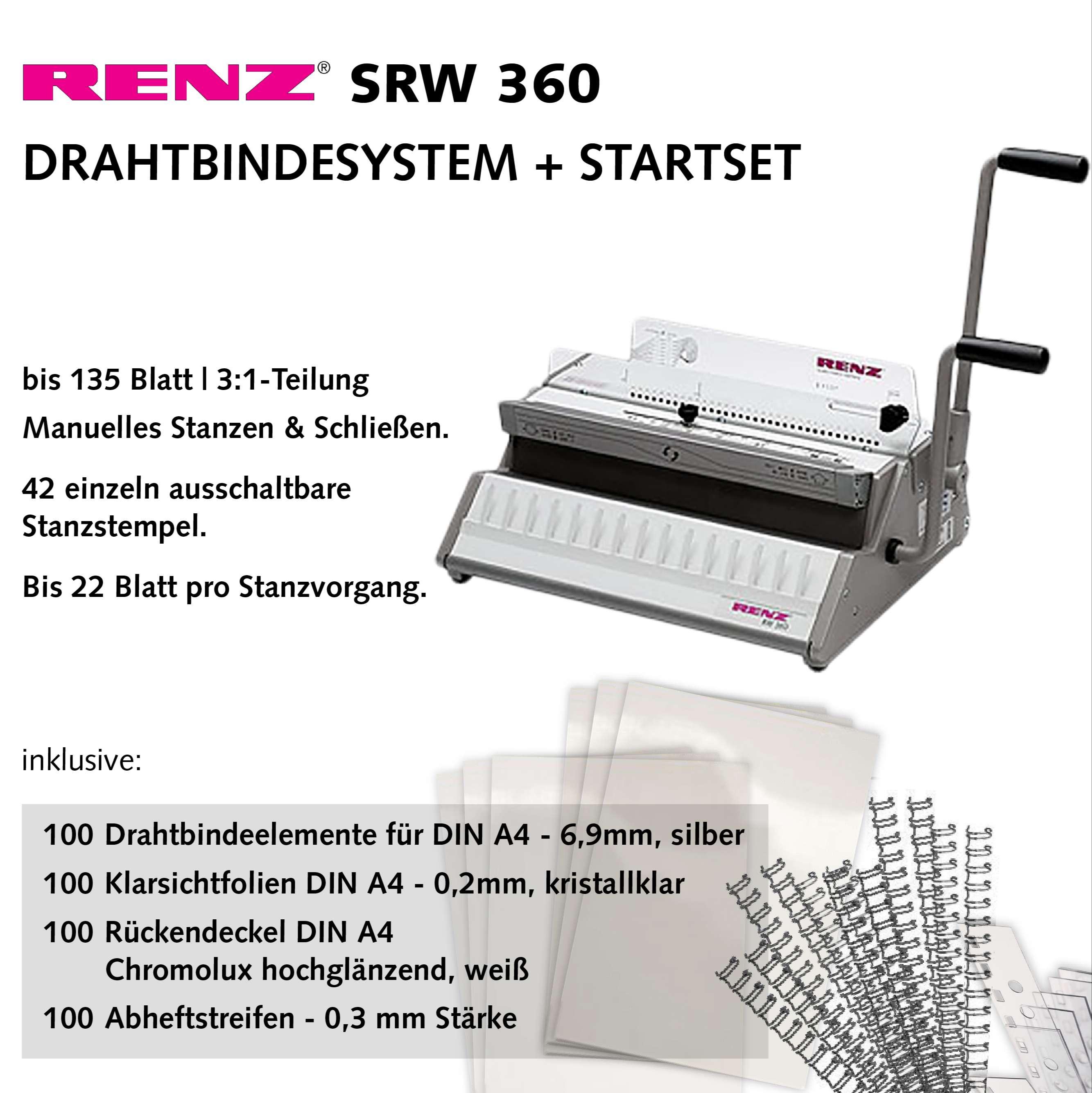 RENZ SRW 360 Bindesystem - Starterset